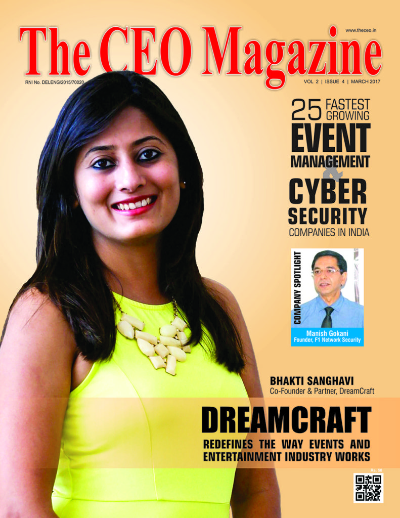 CEO Magazine Cover Page