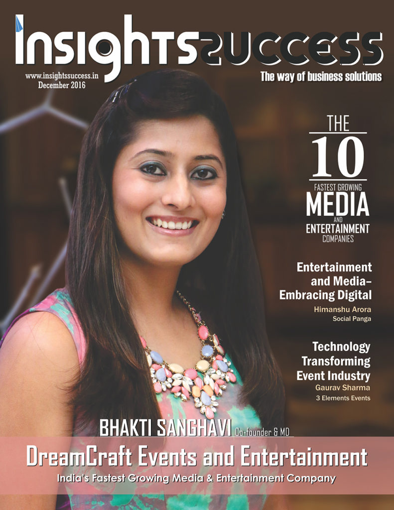 Insights Success Magazine cover page